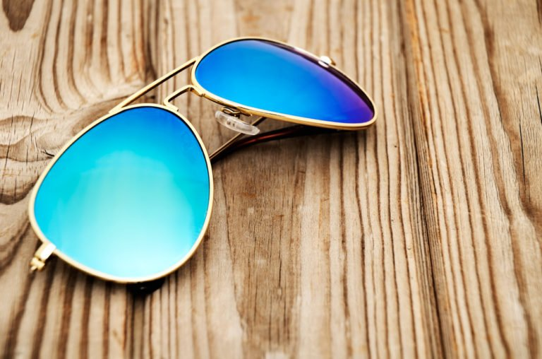 Wear sunglasses to help protect your eyes from UVA and UVB rays