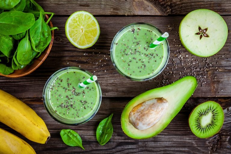 Healthy food can be added to smoothies for a delicious treat