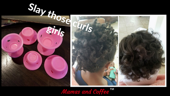 Hairstyles with curls using rollers and keeping your hair natural