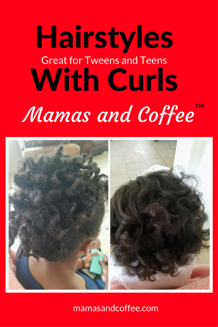Hairstyles with curls great for tweens and teens of all hairtypes