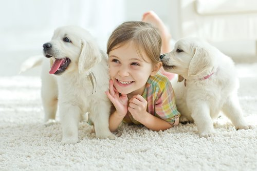 benefits to growing up with a pet