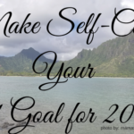 make self-care your goal this year