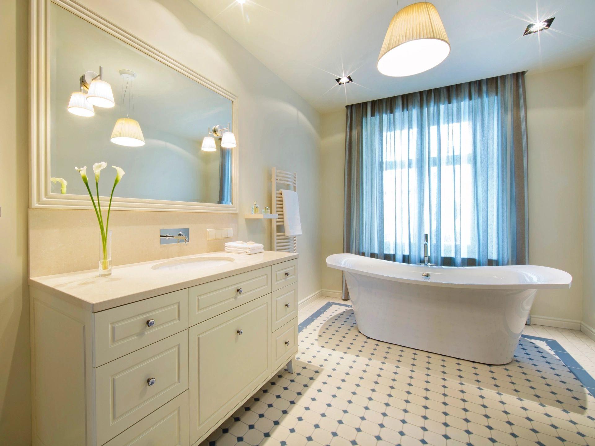 Have a nice clean bathroom