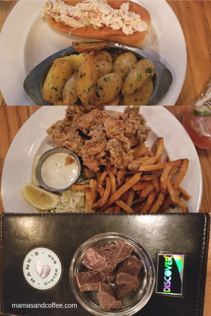 Good food at Hank's Oyster Bar Alexandria Va
