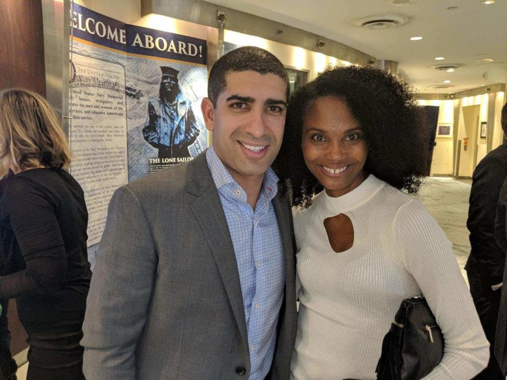 Medal of Honor recipient Florent Groberg in attendance of D.C. Medal of Honor Documentary Netflix event