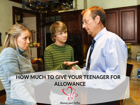 Teenagers and money. It seems like teens are always asking for money. We've decided to give an allowance to help them learn financial responsiblity