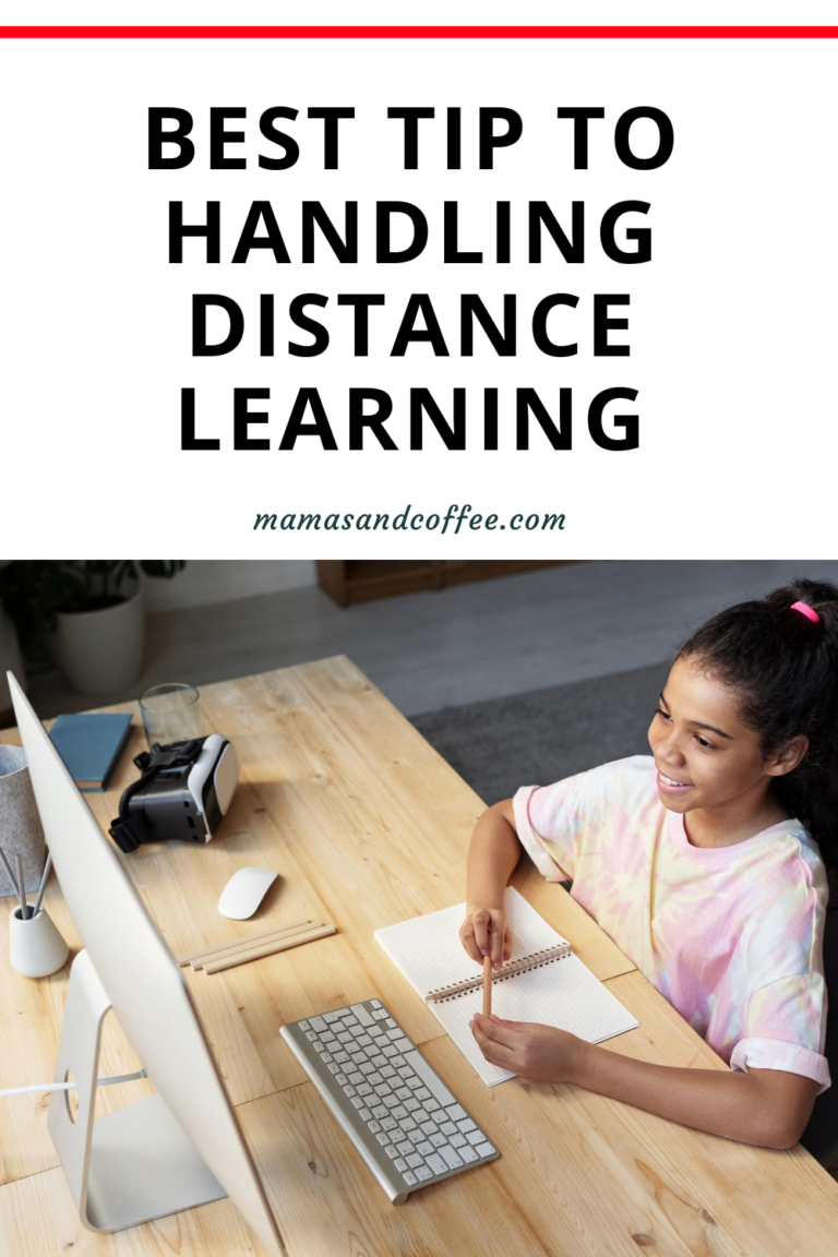 tip to handling distance learning